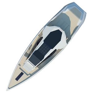 Caimano 90 : Calm and Fast Power Yacht / 2009 Personal